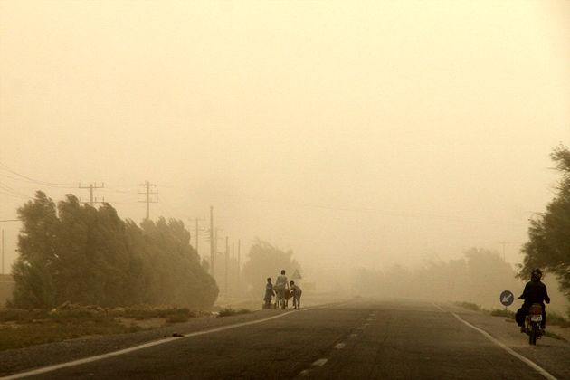 خوزستان در محاصره تندباد و گردوغبار