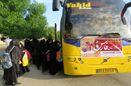 استقبال بی نظیر دانش آموزان شهرستان جهرم از اردوی راهیان نور