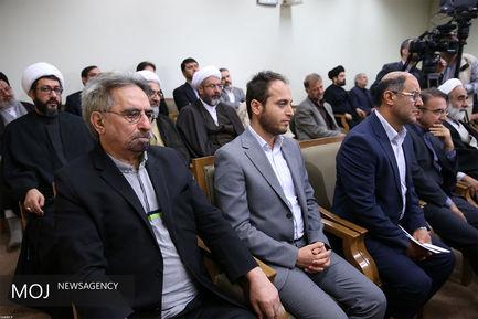 دیدار اعضای ستاد نکوداشت علامه محمدتقی جعفری با مقام معظم رهبری