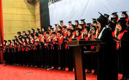 برگزاری بیست و ششمین مراسم تحلیف دانشجویان پزشکی هرمزگان