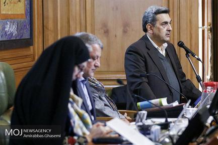 ادای سوگند شهردار در صحن علنی شورای شهر تهران