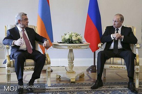 رضایت رئیس جمهور ارمنستان از گفتگوهای صلح قره باغ