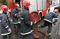 هفت شهروند گرفتار در دود و آتش نجات یافتند