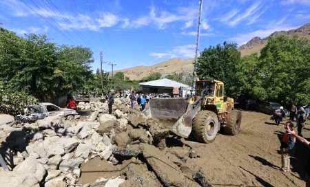 همه راههای اصلی خسارت دیده از سیل در استان گلستان بازگشایی شد