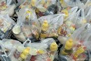 توزیع ۷۲۰ بسته معیشتی و بهداشتی بین نیازمندان در آران و بیدگل