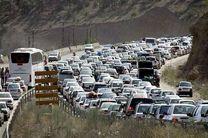 ترافیک سنگین در جاده کرج - چالوس و آزادراه تهران-کرج-قزوین