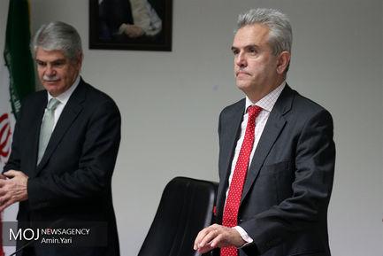 دیدار وزیر امور خارجه اسپانیا با علی اکبر ولایتی