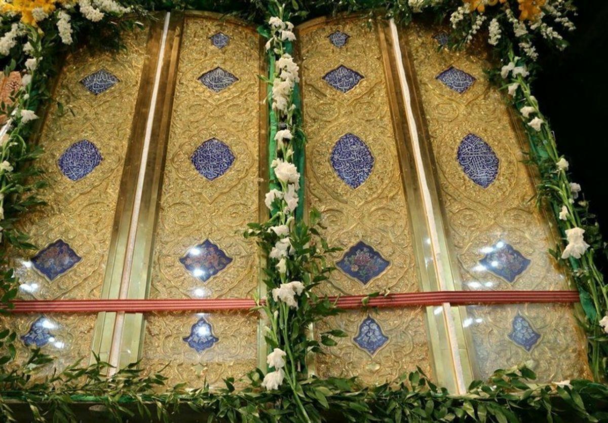 بدرقهی دربهای حرم امامزاده سید محمد(ع) از هرمزگان به عراق