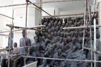 احیا و مرمت مجسمه های موزه علی اکبرخان صنعتی