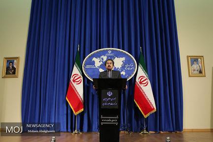 آخرین نشست خبری سخنگوی وزارت امور خارجه در سال ۹۶