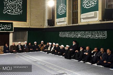 دومین شب عزاداری ایام فاطمیه با حضور مقام معظم رهبری