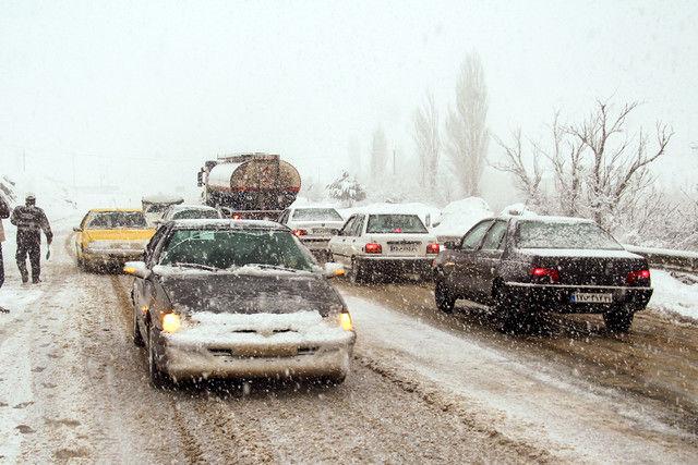 جاده قم - تهران باز شد
