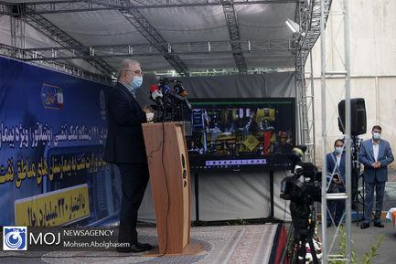اهدای ۱۴۱ دستگاه ونتیلاتور از سوی وزارت نفت به وزارت بهداشت
