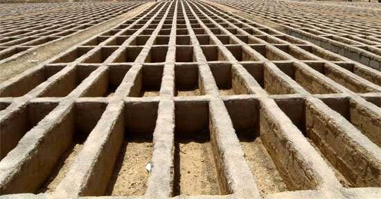 احداث خط انتقال آب غیر شرب به آرامستان بندرعباس