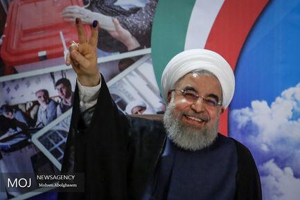 ثبت نام حسن روحانی برای نامزدی در انتخابات ریاست جمهوری