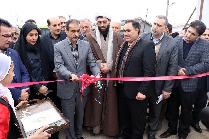 افتتاح 24 پروژه عمرانی در بخش خمام