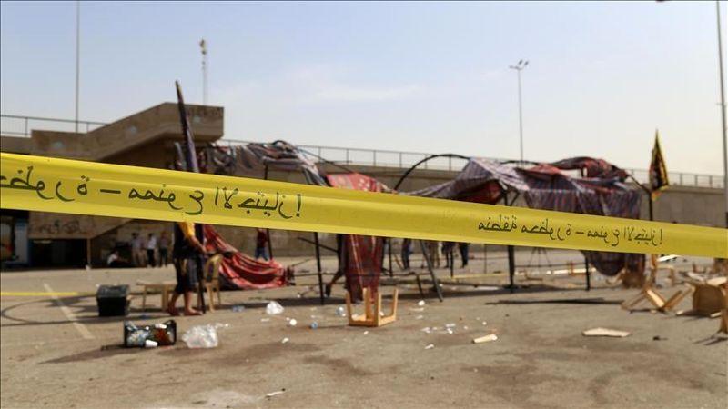 انفجار بمب کنار جاده ای در فلوجه عراق
