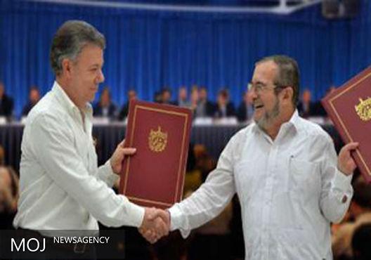 اسپانیا توافق صلح با شورشیان فارک را به کلمبیا تبریک گفت