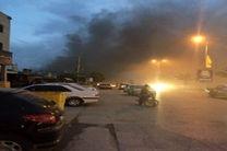 علت  آتش سوزی بازار قدیم درگهان در دست بررسی است