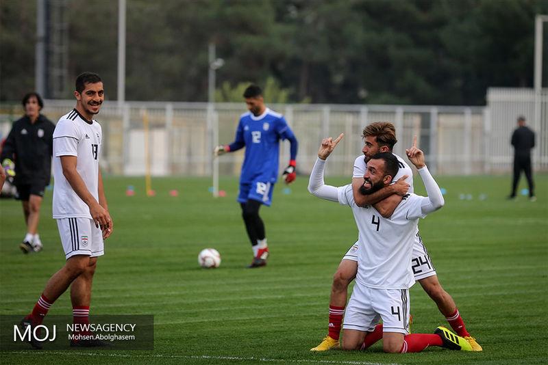 ورود تیم ملی فوتبال ایران به قطر