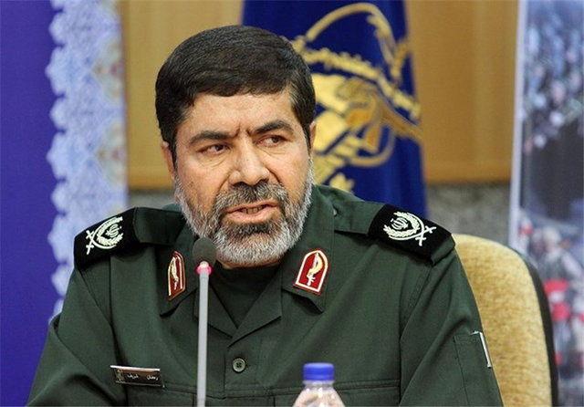 واکنش سردار شریف به ادعای مطرح شده در خصوص شیوه تامین بودجه سپاه