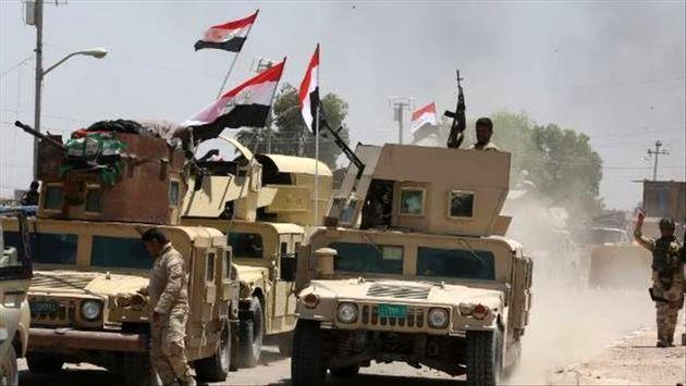 تخریب پناهگاههای داعش و مواضع آنها در صحرای غربی الانبار آغاز شد
