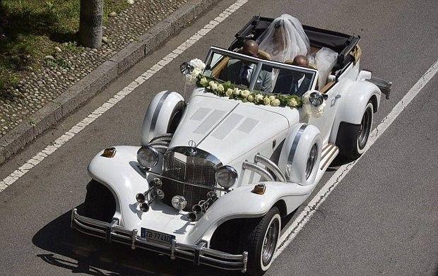 کارلوس پویول در مراسم ازدواج ساموئل اتوئو شرکت کرد