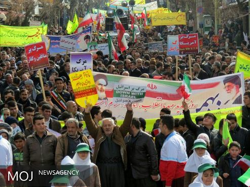 مسیرهای راهپیمایی 22بهمن در استان کردستان اعلام شد