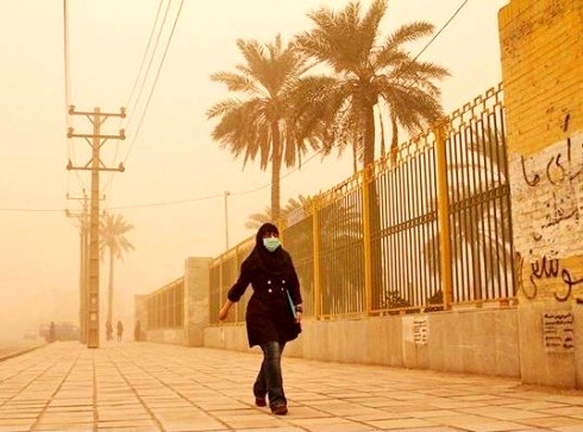 هوای 4 شهر خوزستان برای گروه های حساس ناسالم است