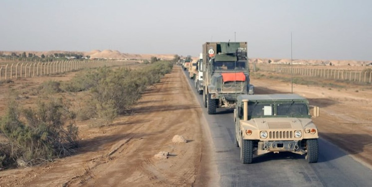 کاروان نظامیان آمریکایی در «حله» عراق هدف قرار گرفت