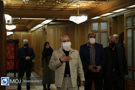 اولین حضور رسمی زاکانی شهردار در جلسه علنی شورای شهر تهران