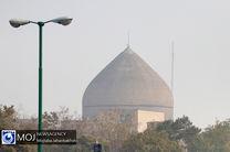 کیفیت هوای اصفهان ناسالم برای گروه های حساس / شاخص کیفی هوا 109