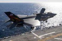 ورود جنگنده های اف-35 آمریکایی به خلیج فارس