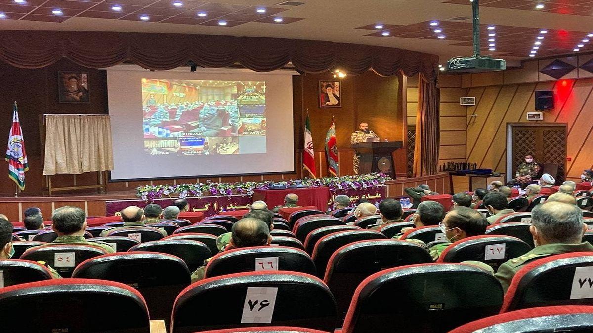 جشنواره ملی ایده پردازی و نمایشگاه دستاوردهای علمی نیروی زمینی ارتش برگزار شد
