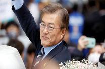 پیام رئیس جمهوری کره جنوبی به همسایه شمالی خود برای صلح پایدار