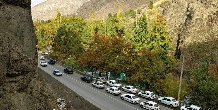 آخرین وضعیت ترافیکی جاده های کشور در 15 مهر