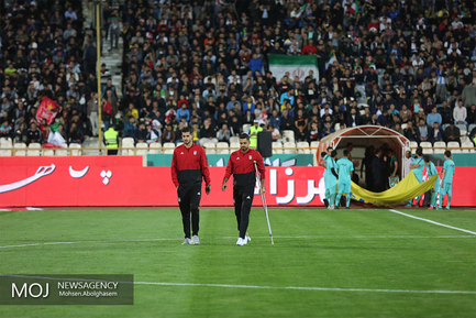 دیدار دوستانه تیم های فوتبال ایران و بولیوی
