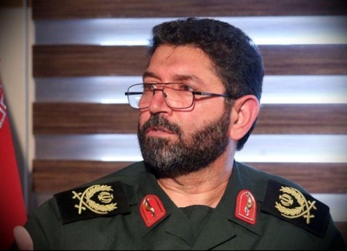 سردار حسن زاده به عنوان فرمانده سپاه محمد رسول الله(ص) تهران منصوب شد