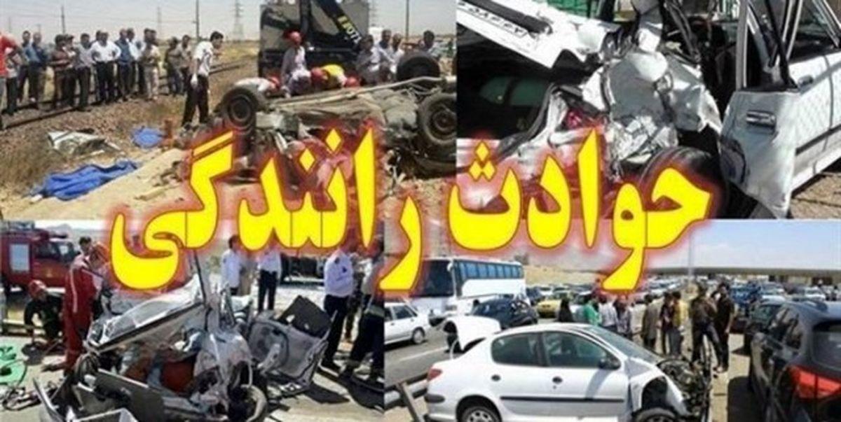 یک کشته و 2 مصدوم در تصادف پژو پارس در قهدریجان