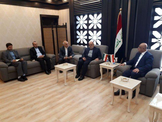 روابط تجاری بین تهران و بغداد باید افزایش یابد