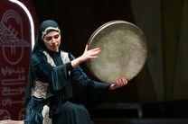 جشنواره ملی موسیقی جوان سیزدهم با نوای دف نوازان مقامی آغاز شد