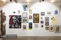 نمایشگاه گروهی نقاشی گذار از گدازه