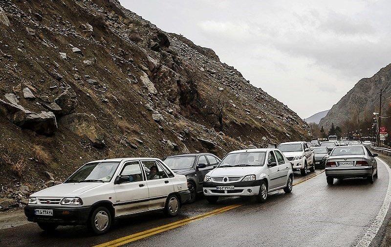آخرین وضعیت جوی و ترافیکی جادهها در 30 خرداد اعلام شد