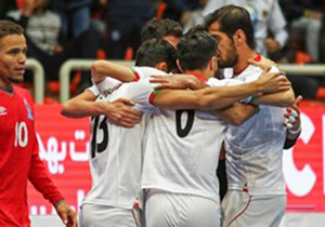 تیم ملی ایران قهرمان تورنومنت چهارجانبه  فوتسال شد