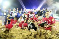 صعود تیم ملی فوتبال ساحلی به رده پنجم رنکینگ جهانی