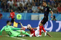 نتیجه بازی دانمارک و کرواسی در جام جهانی/ حذف دانمارک از جام جهانی