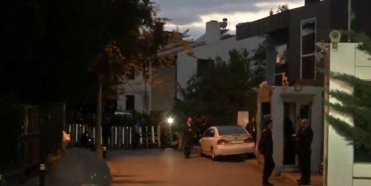 خانه سرکنسول عربستان در ترکیه بازرسی شد