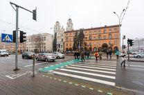 چراغ راهنمایی جدید عابران پیاده در روسیه