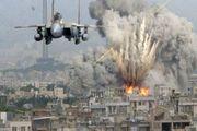 حملات هوایی ائتلاف سعودی به فرودگاه صنعا