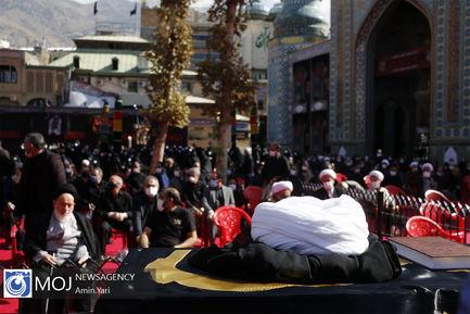 تشییع پیکر حجت الاسلام روح الله حسینیان